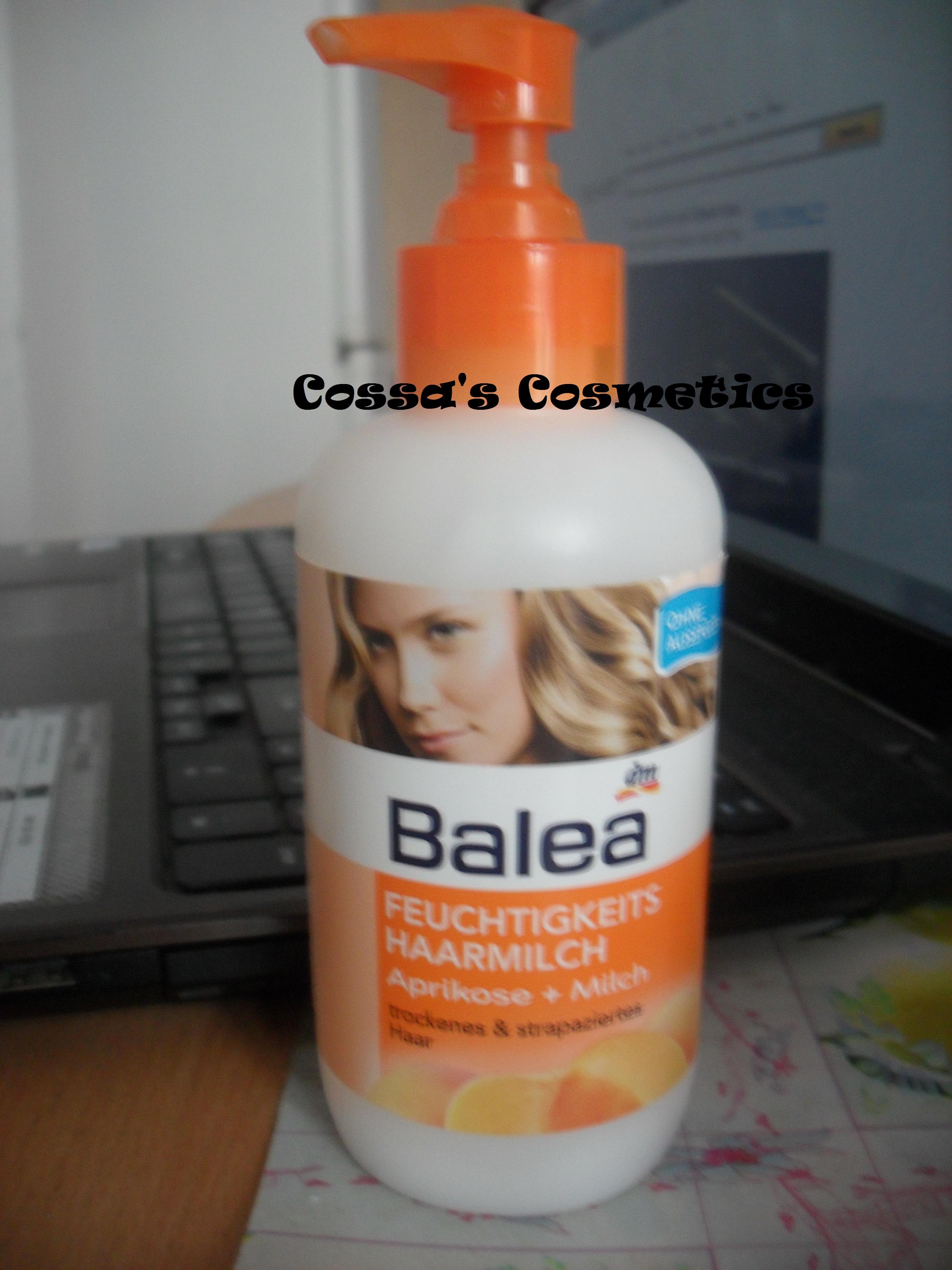Review Lapte Hidratant Pentru Par De La Balea Cossas Blog