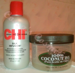CHI silk infusion coconut oil