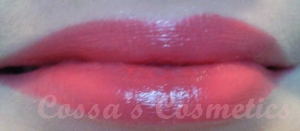 essence almost famous red lipstick