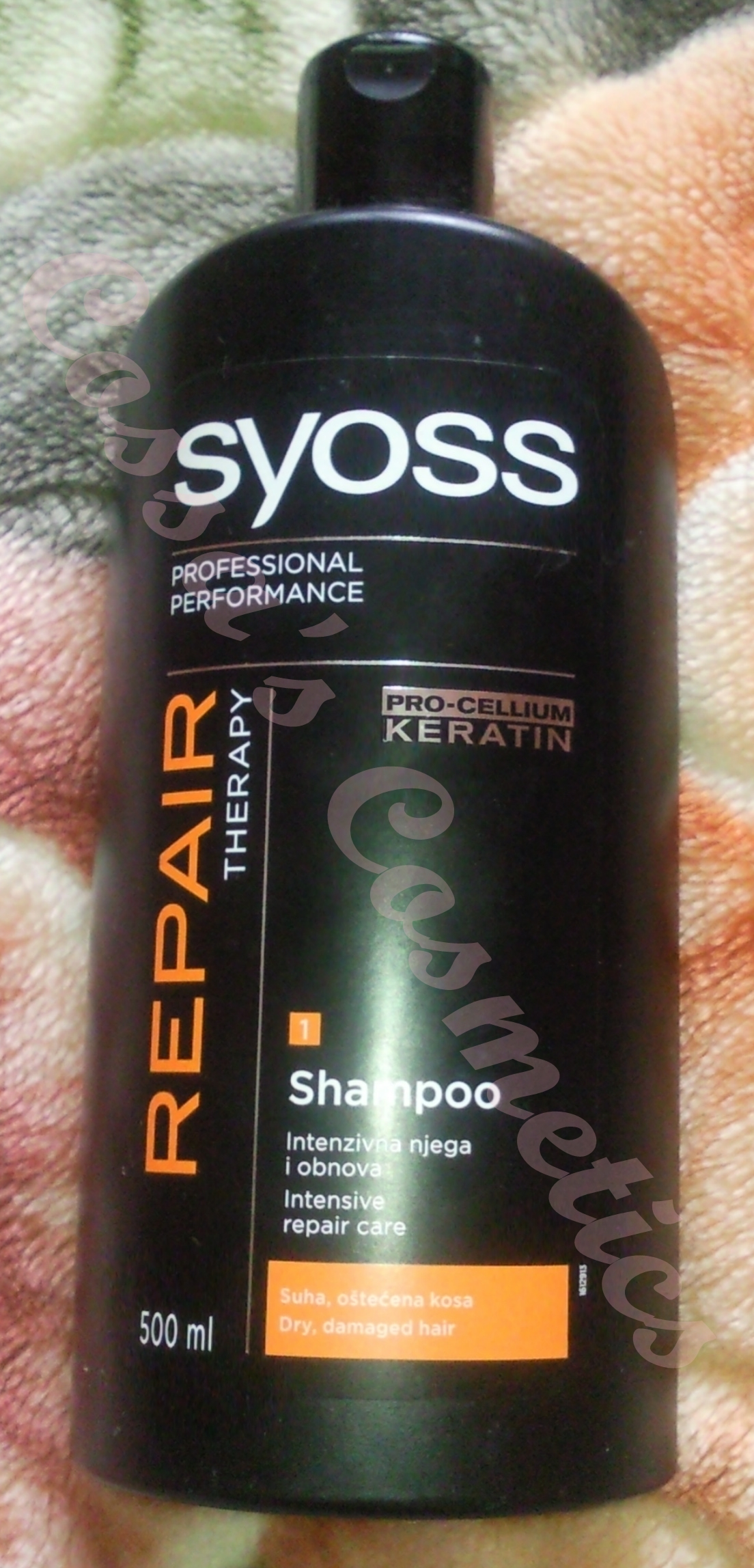268f4dddf2 Review  Sampon Repair Therapy de la Syoss