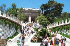 Parc Guell of Barcelona In Spain (3)