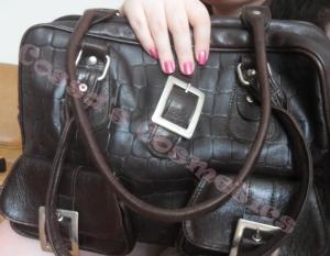 geanta de piele leather handbag purse poseta