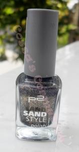 p2 sand style nail polish confidential oja texturata nisipoasa