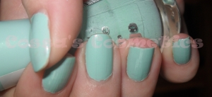 thats what i mint essence nail polish oja