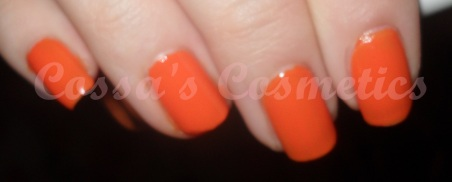 flormar bright neon shine orange portocaliu