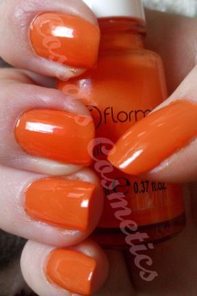 flormar orange bright neon shine portocaliu