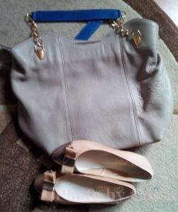xmas gifts nude bag nude shoes