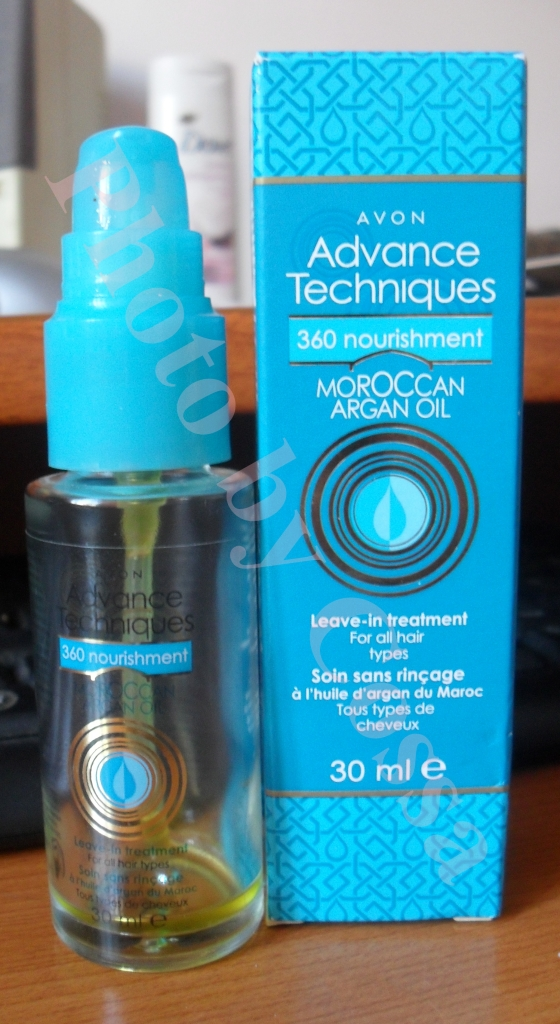 Review: Tratament Leave-In cu Ulei de Argan de la Avon