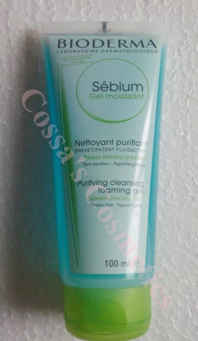 gel sebium bioderma