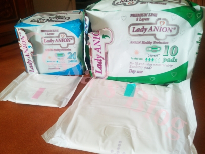 absorbante lady anion