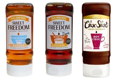 indulcitor sweet freedom original dark sirop de ciocolata