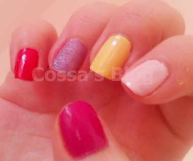 summer nailpolish