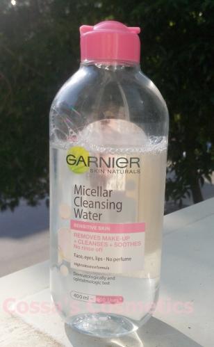 review garnier lotiune micelara micellar water