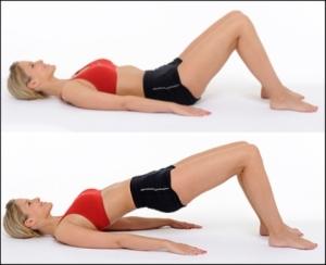 Butt Exercise: Exercitii pentru fese fara celulita