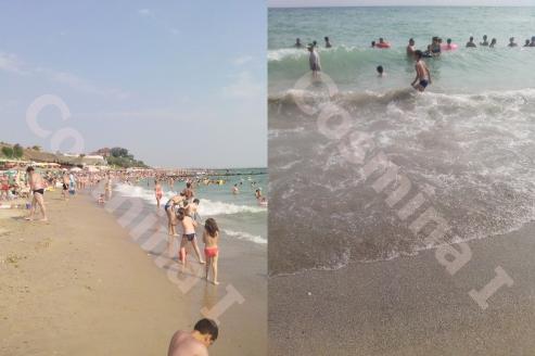eforie sud plaja litoral