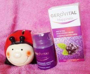 gerovital happiness crema matifianta hidratanta